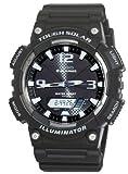Casio #AQ-S810W-1AV Men's Tough Solar Analog Digital Watch