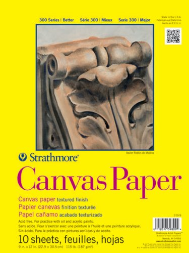 Strathmore Canvas Paper- 6x6 Inch Pad