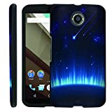 [ManiaGear] [GUARD] Design Graphic Image Shell Cover Hard Case (Blue Falling Sky) for Google Nexus 6