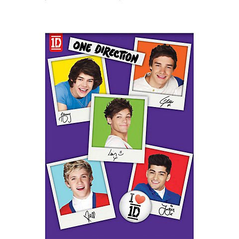 One Direction Paper Tablecover - 1