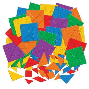 Roylco R15663 Roylco Tangram Puzzle Mosaics