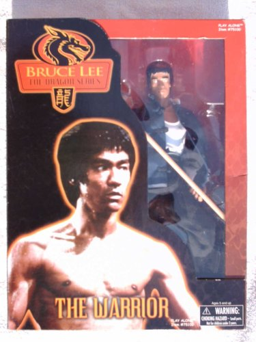 Picture of Play Along Bruce Lee The Dragon Series The Warrior 12 inches Tall Action Figure (B001NRWBTC) (Play Along Action Figures)