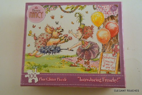 Fancy Nancy a Total Makeover 100 Piece Glitter Puzzle