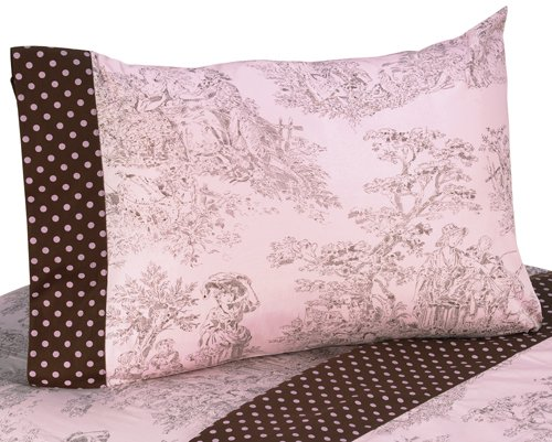 Brown Toile Bedroom Ideas: Pink And Brown Bedding