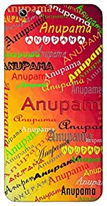 Anupama (Beyond Comparison, Unique) Name & Sign Printed All over customize & Personalized!! Protective back cover for your Smart Phone : Samsung Galaxy E5