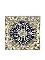 Eden Carpets Alfombra Nain Gris/Azul 198 x 197 cm