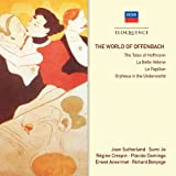 echange, troc Sutherland, Crespin, Bonynge, Ansermet - World of Offenbach