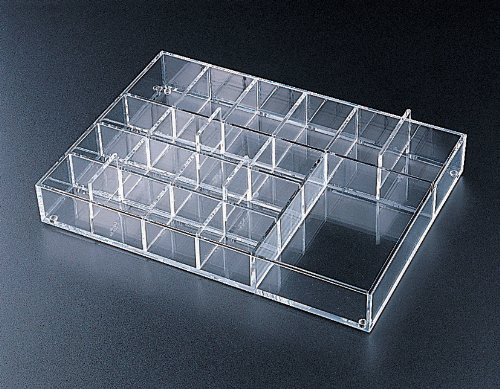 Removable 19 Compartment Tray (Acrylic)