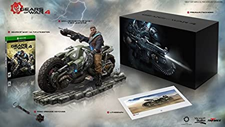 Gears of War 4: Collector's Edition - Outsider Variant (Includes Ultimate Edition SteelBook + Season Pass) - Amazon Exclusive - Xbox One