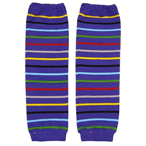 New Baggy Cotton Baby Knee Pads Leg Warmer/ Leggings Purple 8061201