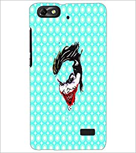 PrintDhaba Joker D-4889 Back Case Cover for HUAWEI HONOR 4C (Multi-Coloured)