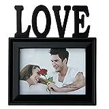 Basement Bazaar Plastic 'Love' Photo Frame (Black)