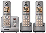 Panasonic KX-TG6723 Cordless Phone with Answering Machine ( DECT,Hands Free Functionality, Low Radiation )
