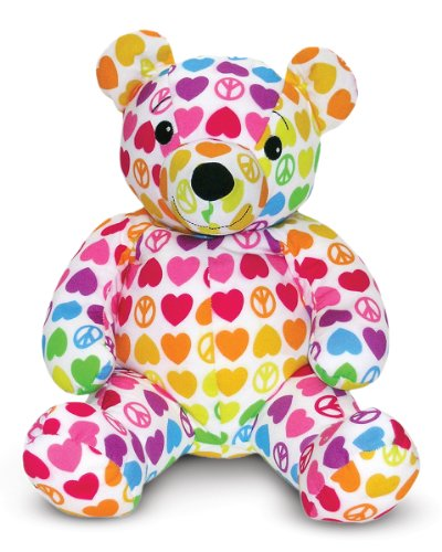 Melissa And Doug Teddy Bear back-729855
