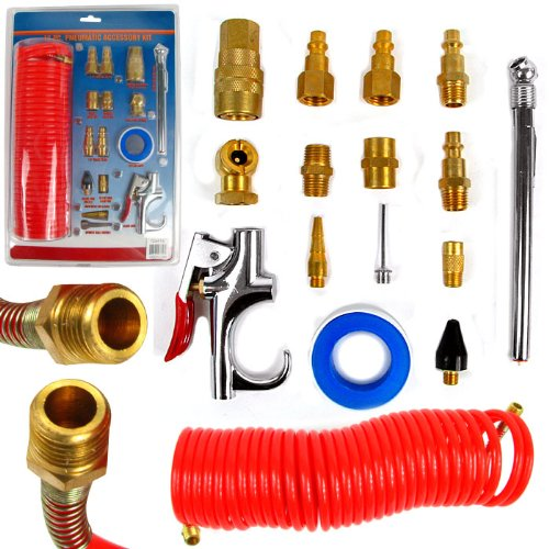 16 pc Pneumatic Accessory Kit