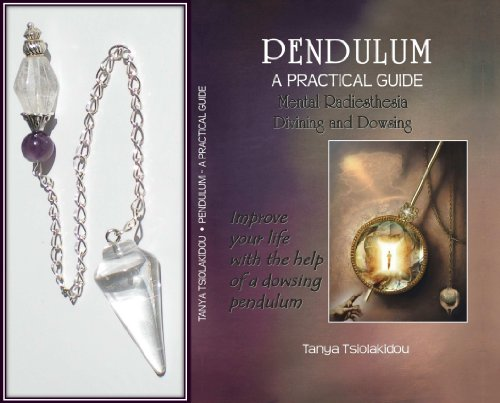 Healing Crystal Gemstone Double Ended Dowsing Pendulum with Book This beautiful Dowsing Pendulum is made from polished natural Clear Quartz. The highest quality materials have been used to reveal the natural beauty of this product. The pendulums measure between 28mm and 41mm in length approximately and also feature ? 180mm Silver chain. Additional Materials: Tibetan Silver and Amethyst Present: PENDULUM A PRACTICAL GUIDE Mental radiesthesia Divining and Dowsing Large format book English |200 pag