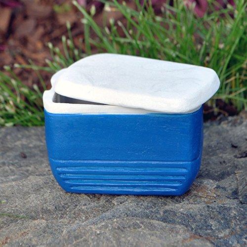 Miniature Fairy Garden Cooler, Blue