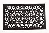 Lawn & Patio - Kempf Rubber Scroll Doormat Rectangular