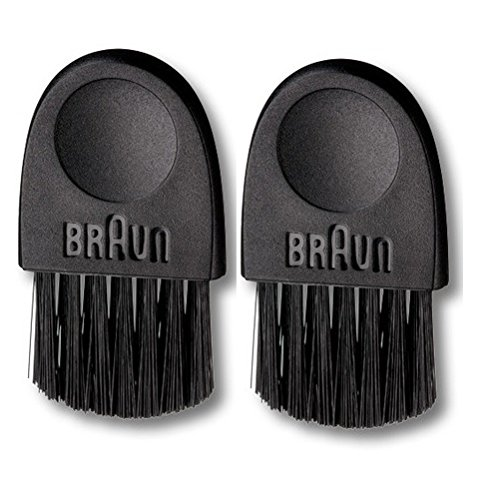 Shaving Brush - Braun 67030939 Basic Electric Shaver Cleaning Brush 6cm (2 pcs) (Braun Razor 790 compare prices)