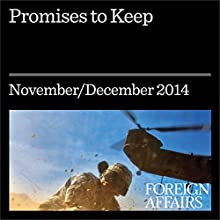 Promises to Keep (Foreign Affairs): Crafting Better Development Goals (       UNABRIDGED) by Bjorn Lomborg Narrated by Kevin Stillwell