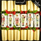 6 pc Traditional Nutcracker Christmas Crackers 680