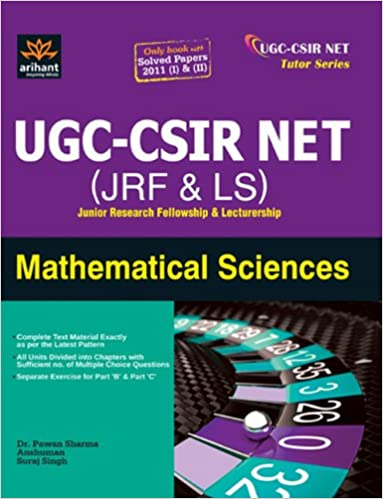 Mathematical Science books for preparation of CSIR-NET