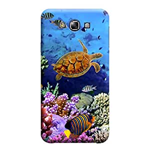 iCover Premium Printed Mobile Back Case Cover With Full protection For Samsung E7 (Designer Case)