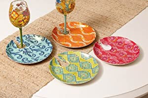 EarthAware Eco Appetizer Plates - 4 Assorted