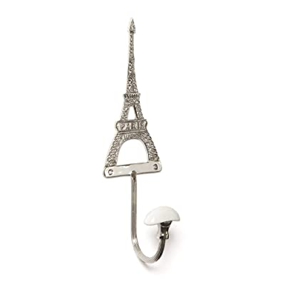 Left Bank French Shabby Chic Eiffel Single Coat Hook
