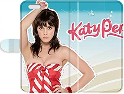 Custom Personalized katy perry Cover iPhone 7 Plus Leather Case