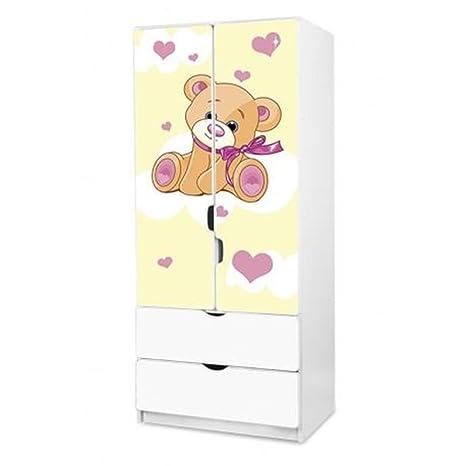 Childrens Matching Wardrobe Design 6- Teddy