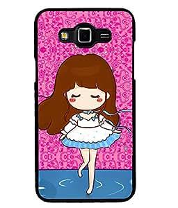 Printvisa 2D Printed Girly Designer back case cover for Grand 3 - D4582