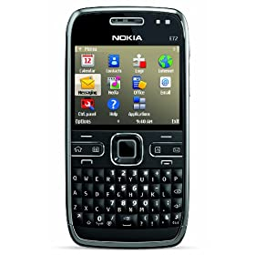 51hmy8NeW3L. SL500 AA280  Nokia E72 Unlocked Phone (Zodium Black)   $370 Shipped