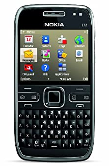 buy Nokia E72 Unlocked Phone Featuring Gps With Voice Navigation - U.S. Version With Full Warranty (Zodium Black)