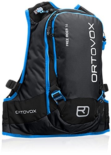 Ortovox Lawinenrucksack Free Rider 18, black anthracite, 42 x 27 x 20 cm, 16 litres, 4675200001