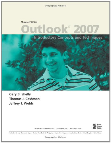 Microsoft Office Outlook 2007: Introductory Concepts and...