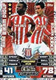 Match Attax Extra 2014/2015 Mame Biram Diouf/ Bojan Krkic(Stoke City)Duo Card 14/15