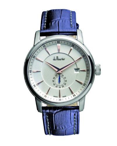 du-maurier-mxwblu-montre-homme-quartz-analogique-bracelet-cuir-bleu