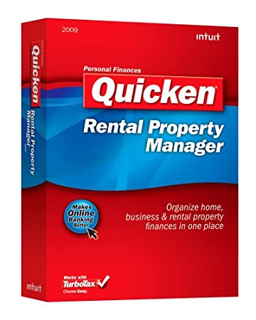 Quicken Rental Property Manager 2009 [OLD VERSION]