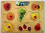 Wooden Fruit Peg Puzzle