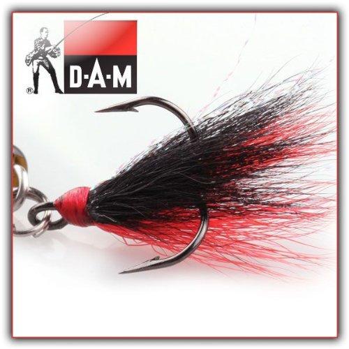 DAM SUMO Drillinge mit Behang - schwarz-rot - Gr.2 - 3 Stück