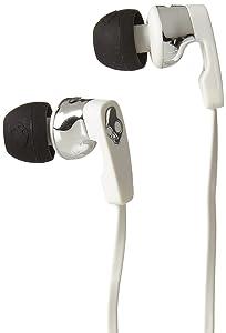 Skukllcanduy Strum 2.0 In Ear White Black Chrome