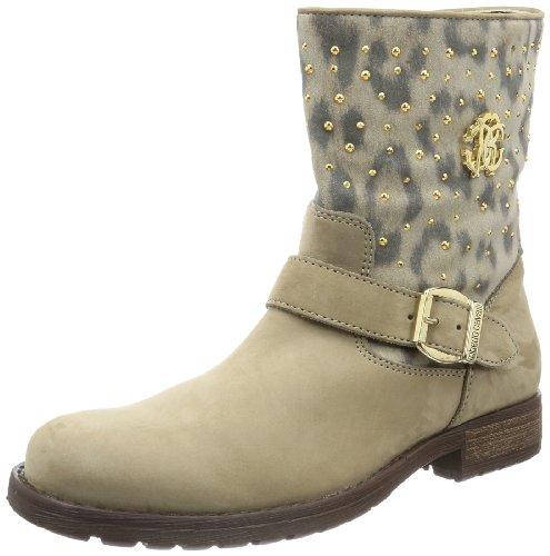 Roberto Cavalli Girls BOOTIE Boots Beige Beige (TORTORA) Size: 37