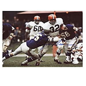 Jim Brown Autographed Signed 8x10 Photo - Cleveland Browns by Hollywood Collectibles