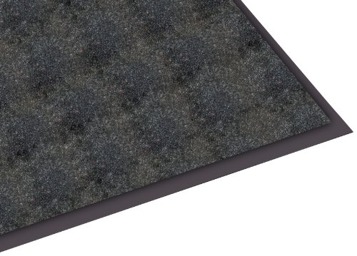 Guardian Silver Series Indoor Walk-Off Floor Mat, Vinyl/Polypropylene, 3