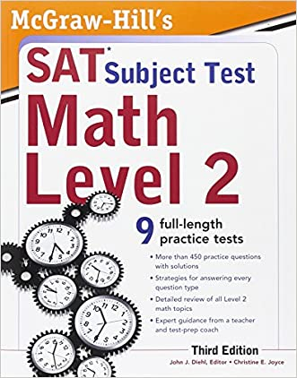 McGraw-Hill's SAT Subject Test Math Level 2, 3rd Edition (Sat Subject Tests)