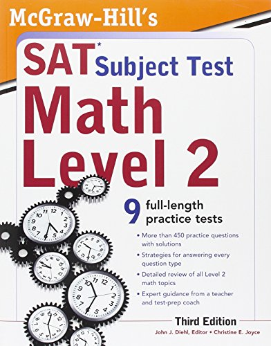 McGraw-Hill's SAT Subject Test: Math Level 2, 2 E