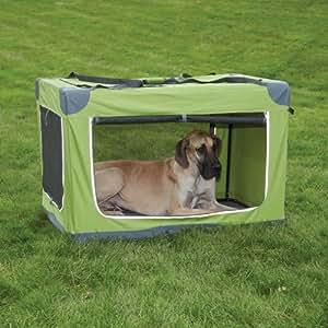 Guardian Gear Nylon Pioneer Soft Dog Crate, Small, Orange