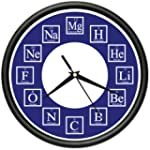CHEMISTRY Wall Clock science chemical...