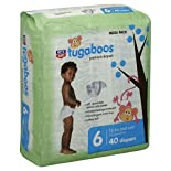 Rite Aid Tugaboos Diapers, Premium, Size 6 (35 lbs and Over), Mega Pack, 40 ea
